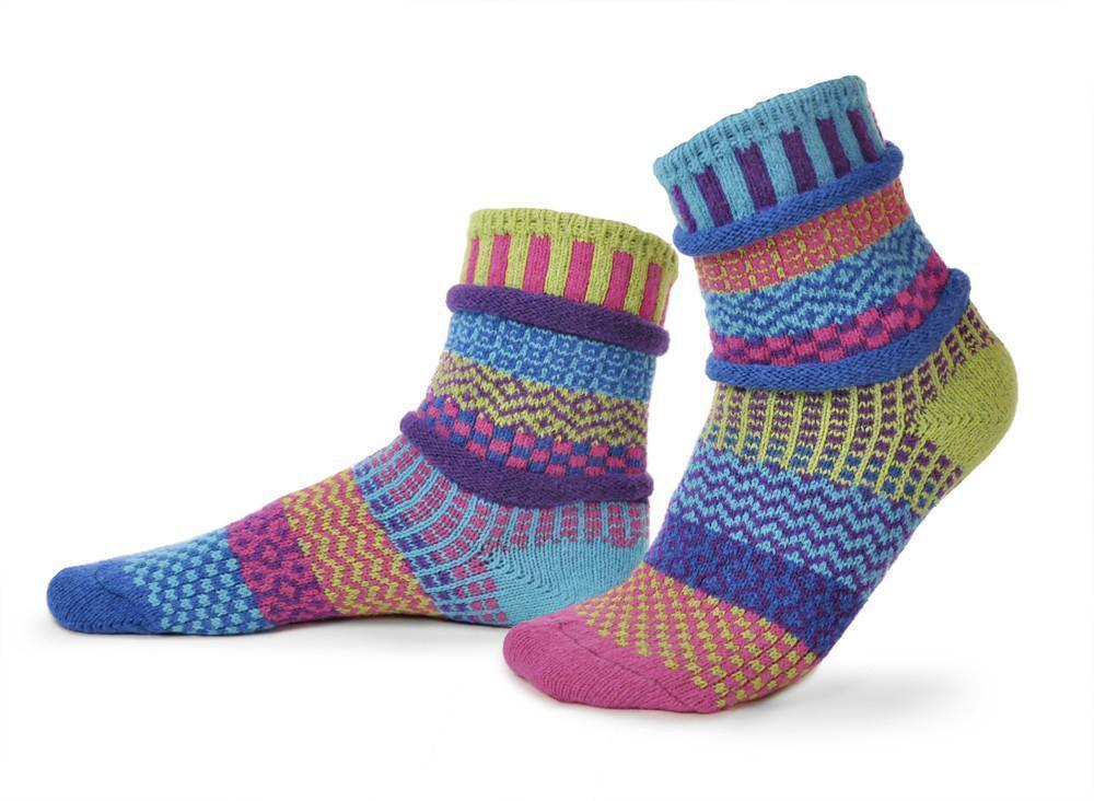 Solmate - Bluebell Crew Socks | Women's - Knock Your Socks Off