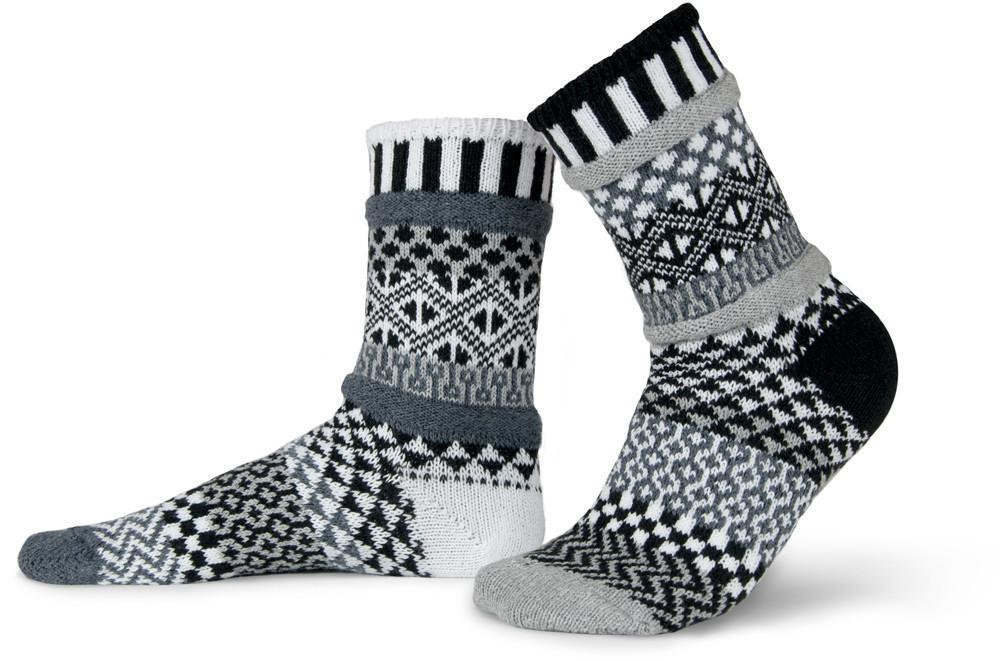 Solmate - Midnight Crew Socks | Women's - Knock Your Socks Off