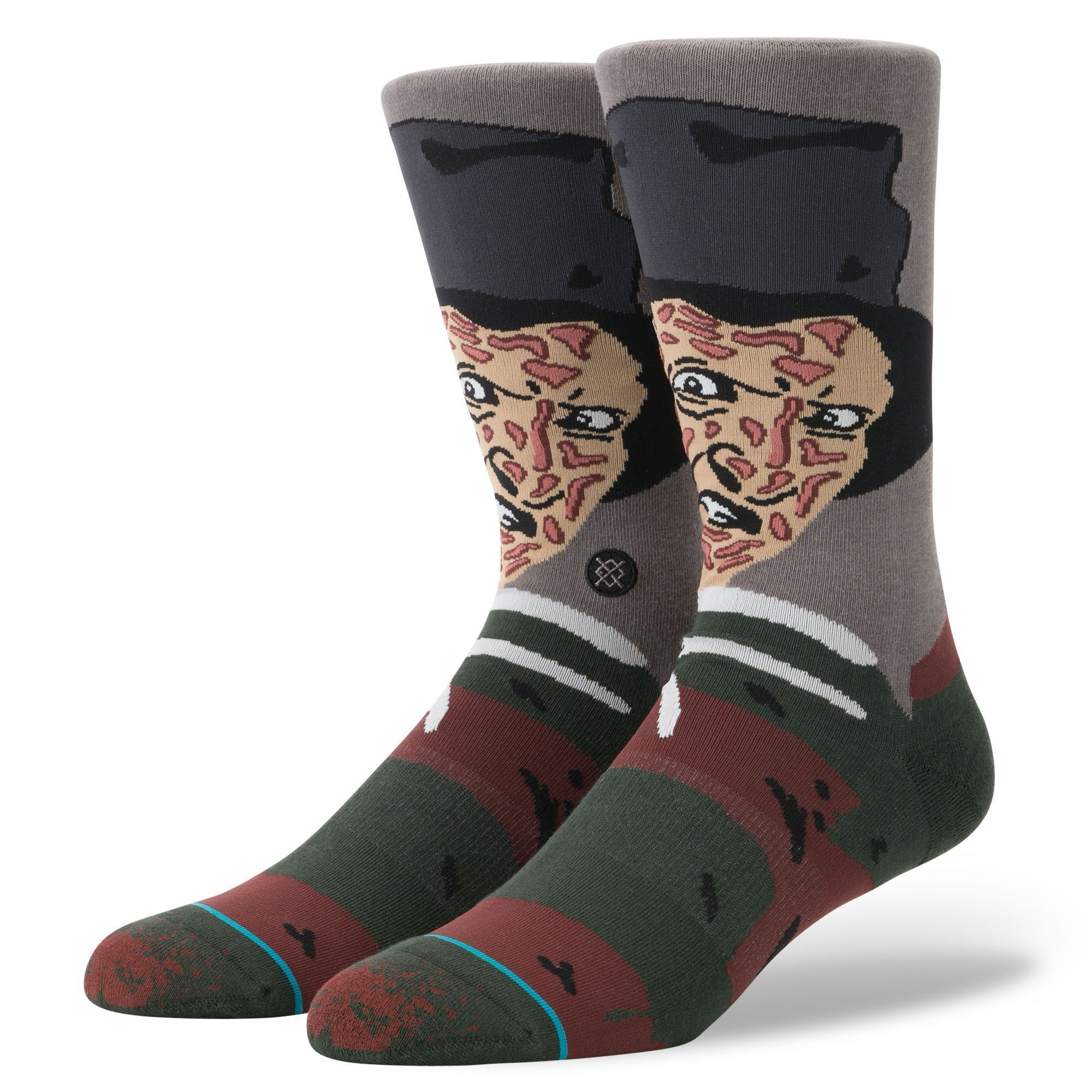 Stance - A Nightmare on Elm Street: Freddy Crew Socks | Men's - Knock Your Socks Off