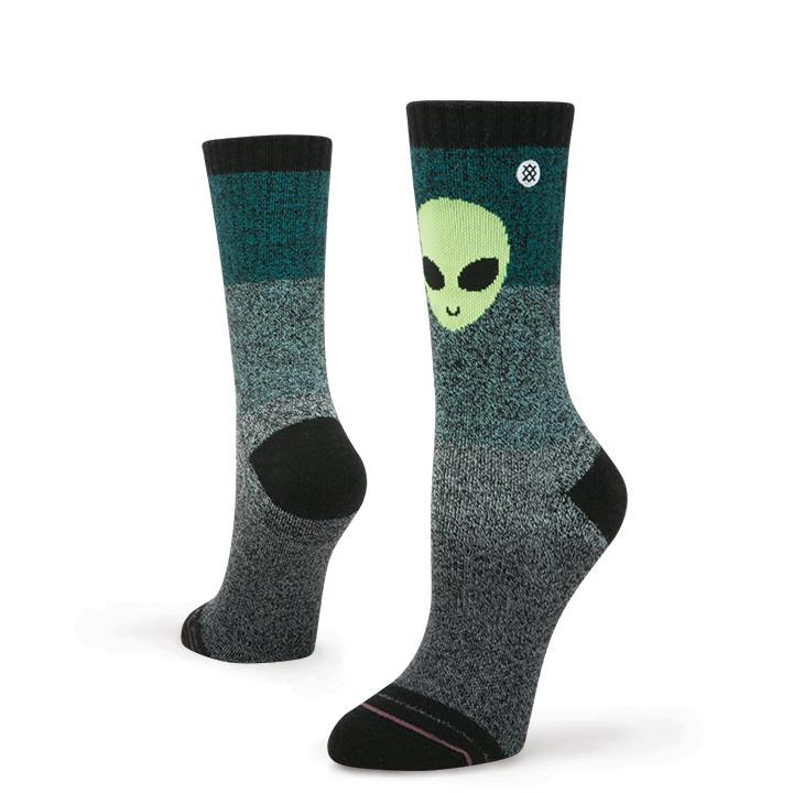 Stance - A OK Crew Socks | Women's - Knock Your Socks Off