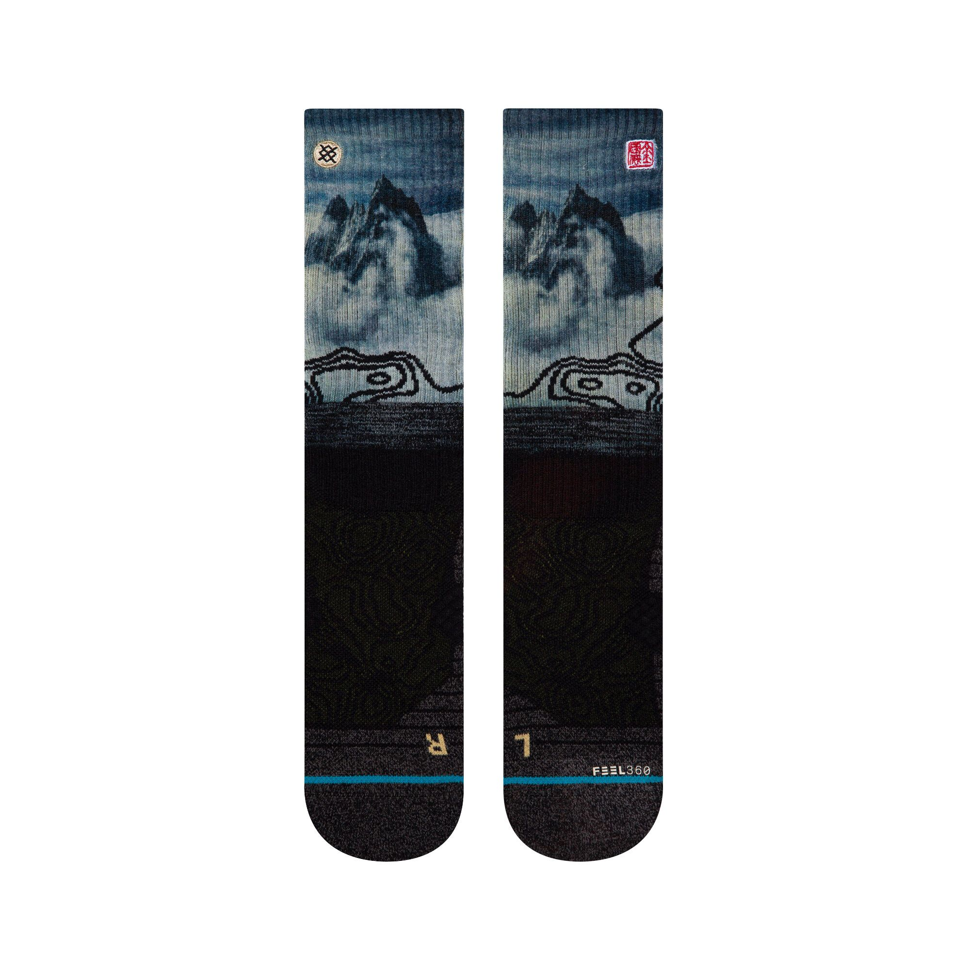 Stance - Altitude Crew Socks | Women's - Knock Your Socks Off
