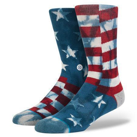 Stance - Banner Crew Socks | Men's - Knock Your Socks Off