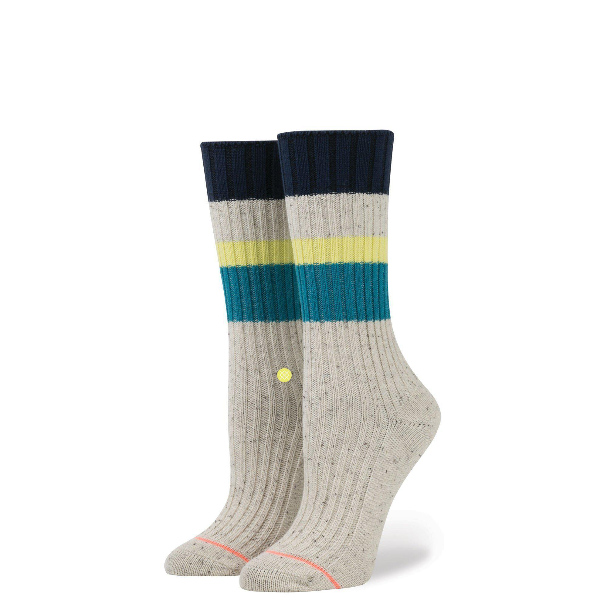 Stance - Basically Basic Crew Socks | Women's - Knock Your Socks Off
