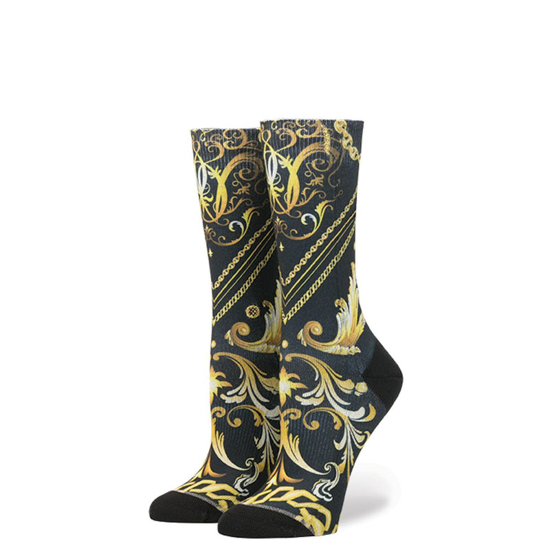 Stance - Beauty and the Beast: Handsome Beast Crew Socks | Women's - Knock Your Socks Off