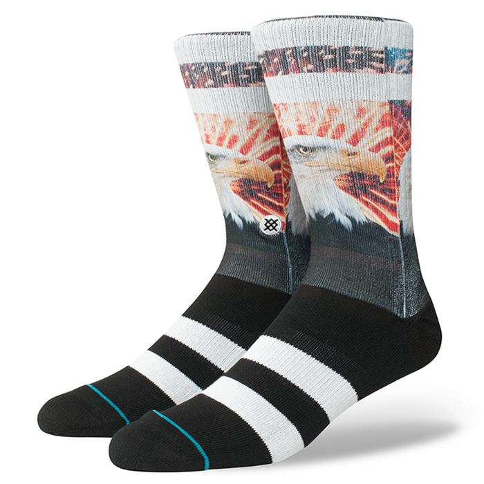 Stance - Defender Crew Socks | Men's - Knock Your Socks Off