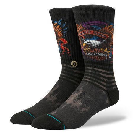 Stance - Harley Davidson: World Famous Crew Socks | Men's - Knock Your Socks Off