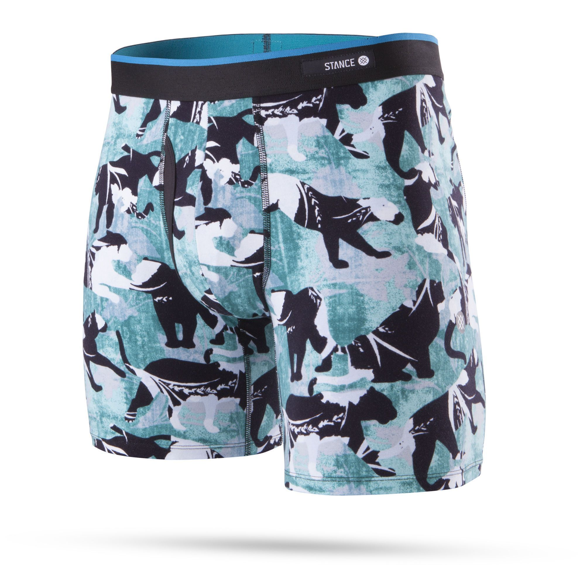 Stance - Panthers Boxer Brief Underwear | Men's - Knock Your Socks Off
