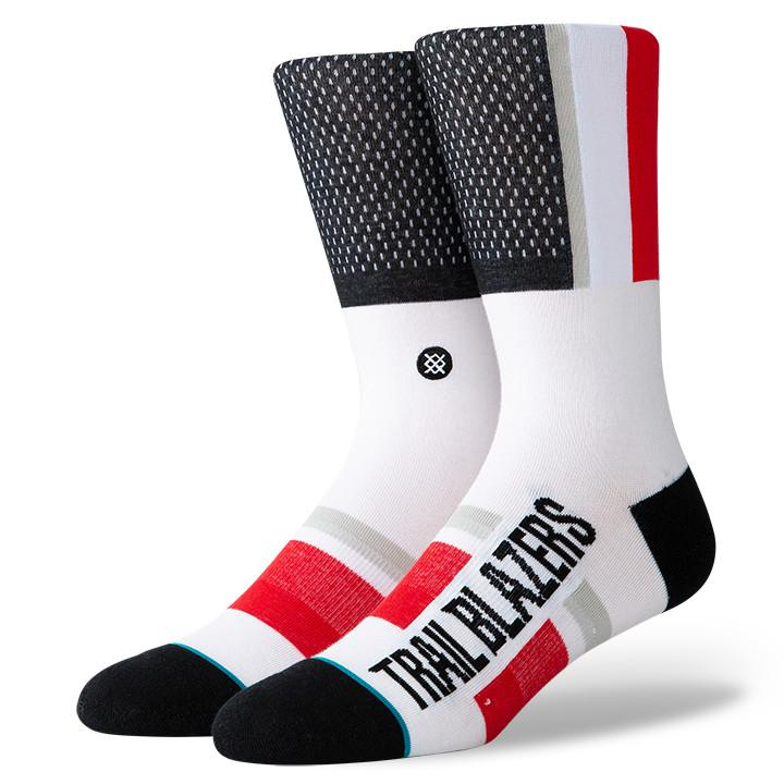 Stance - Portland Trail Blazers Shortcut 2 Crew Socks | Men's - Knock Your Socks Off