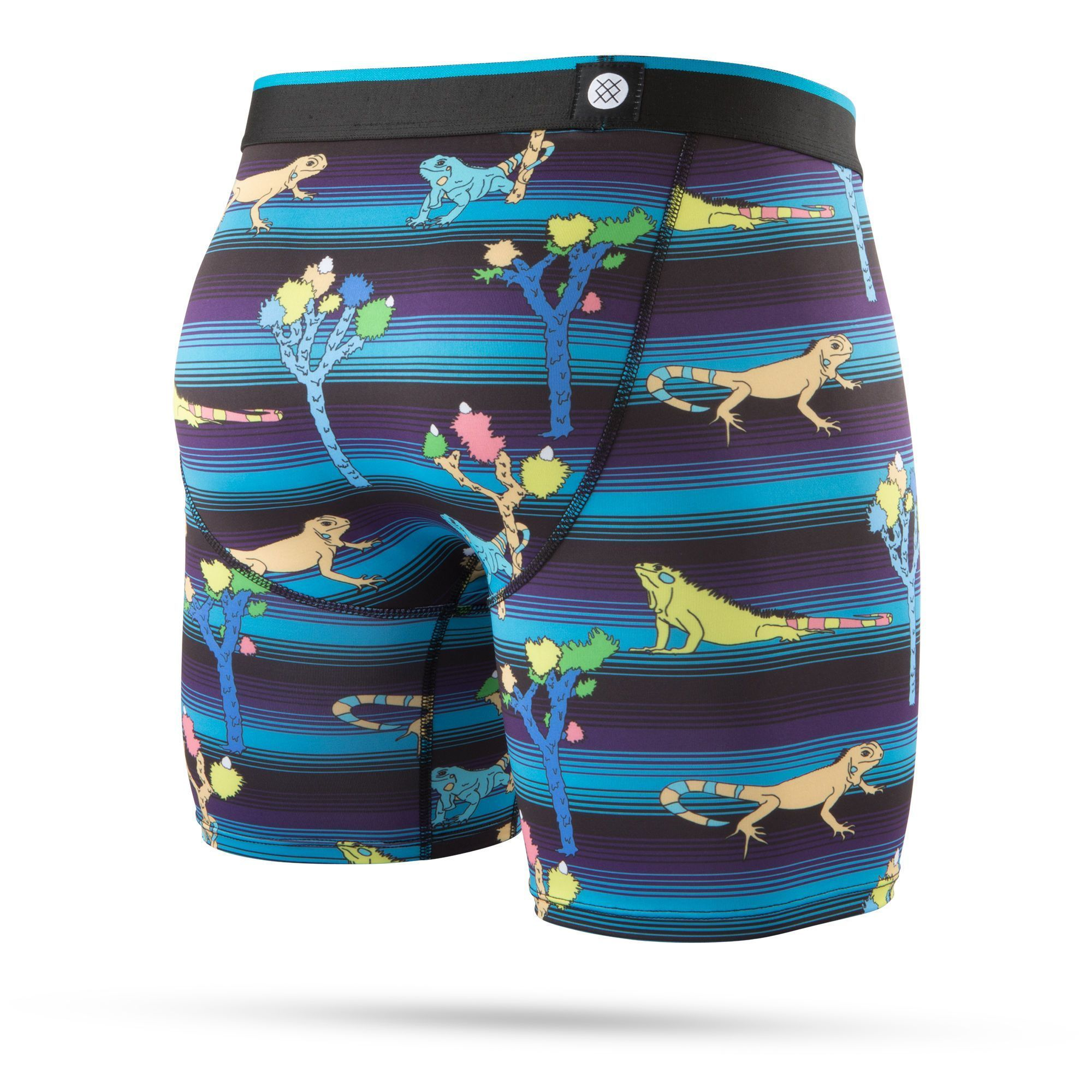Stance - Reptile Boxer Brief Underwear | Men's - Knock Your Socks Off