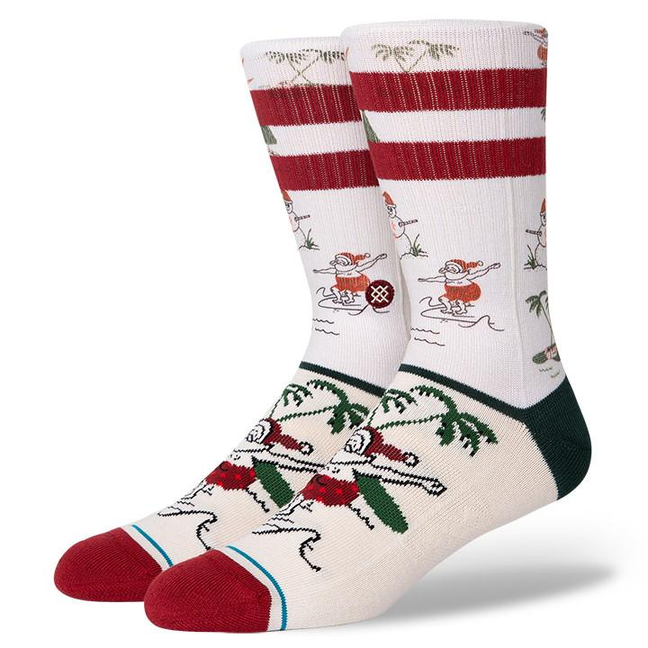 Stance - Santa's Day Off Crew Socks | Men's - Knock Your Socks Off