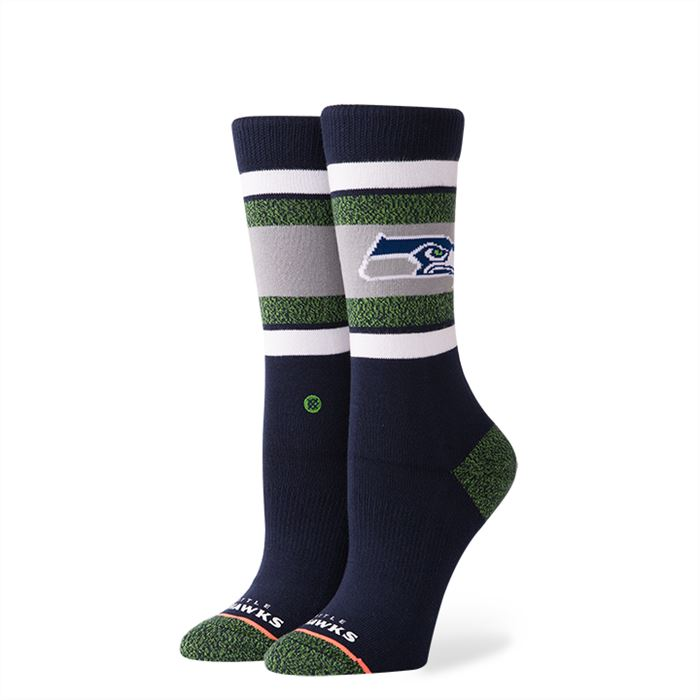 Stance - Seahawks Crew Socks | Women's - Knock Your Socks Off