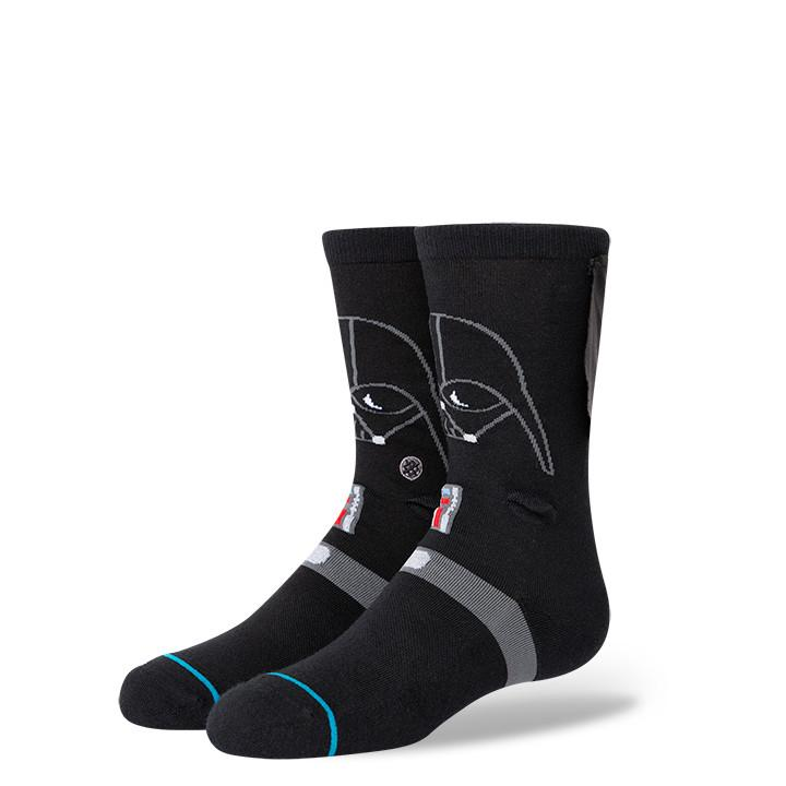 "Stance - Star Wars: ""3D Darth"" Darth Vader Crew Socks 