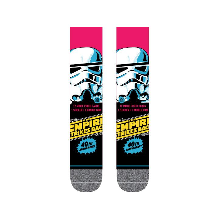 Stance - Star Wars: 40th Anniversary Trooper Crew Socks | Men's - Knock Your Socks Off