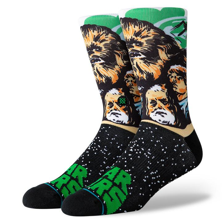 Stance - Star Wars: Chewbacca Crew Socks | Men's - Knock Your Socks Off