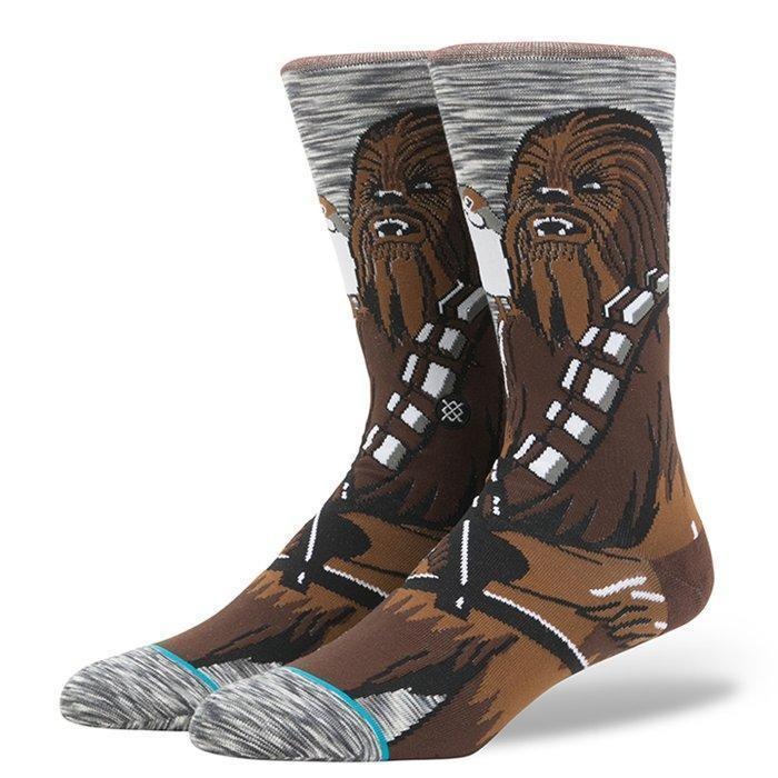Stance - Star Wars: Chewie Pal Crew Socks | Men's - Knock Your Socks Off