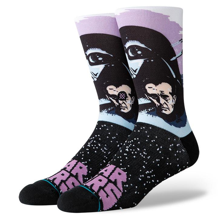 Stance - Star Wars: Darth Vader Crew Socks | Men's - Knock Your Socks Off
