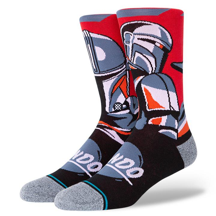 Stance - Star Wars Mandalorian: Beskar Steel Crew Socks | Men's - Knock Your Socks Off