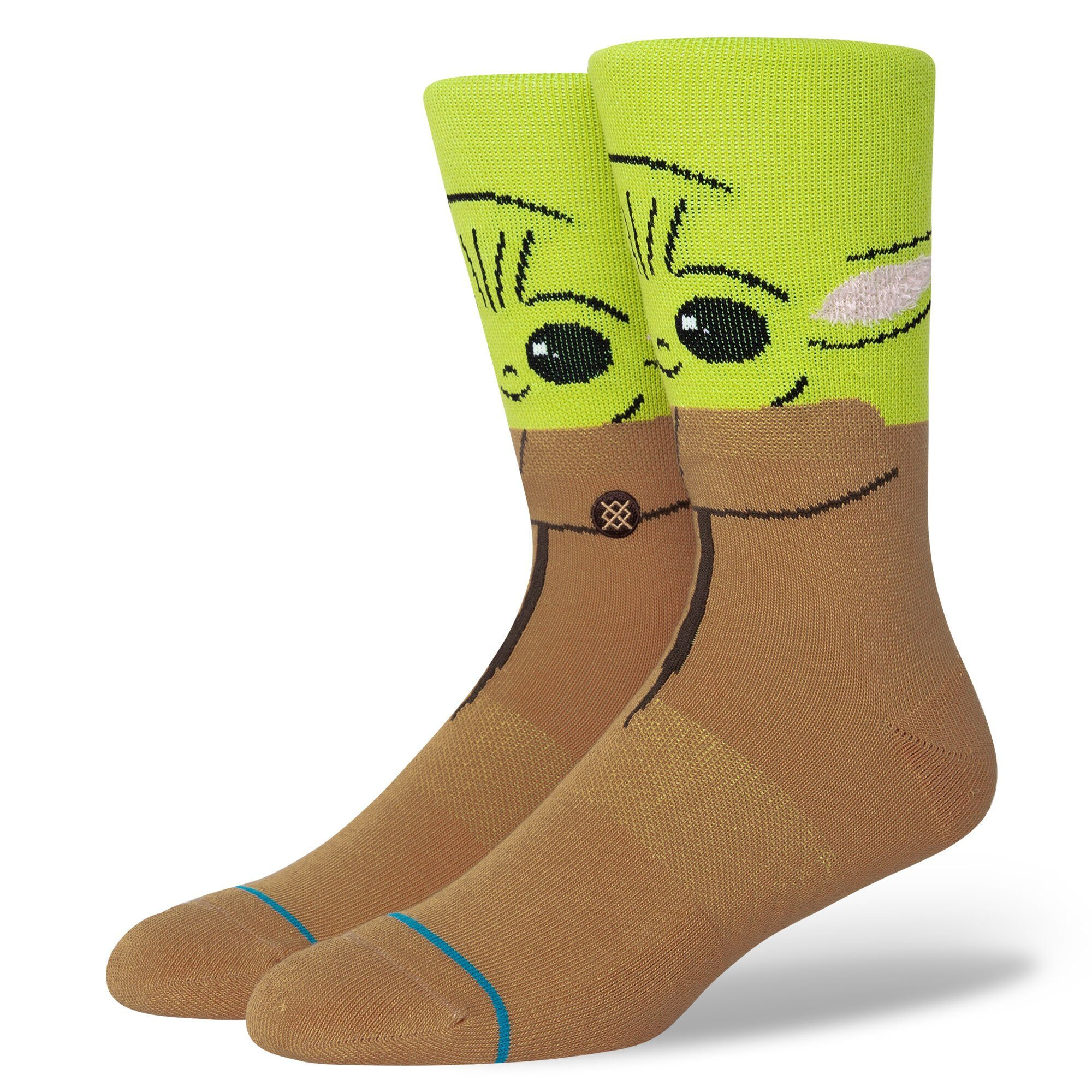 "Stance - Star Wars Mandalorian: ""The Bounty"" Baby Yoda Crew Socks 