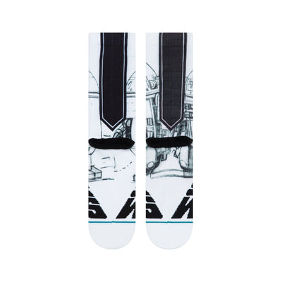 Stance - Star Wars: McQuarrie R2D2 Crew Socks | Men's - Knock Your Socks Off