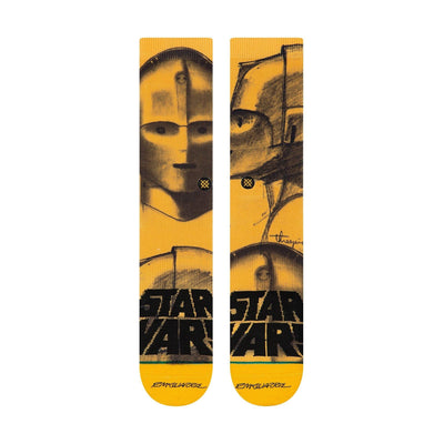 Stance - Star Wars: McQuarrie Threepio Crew Socks | Men's - Knock Your Socks Off