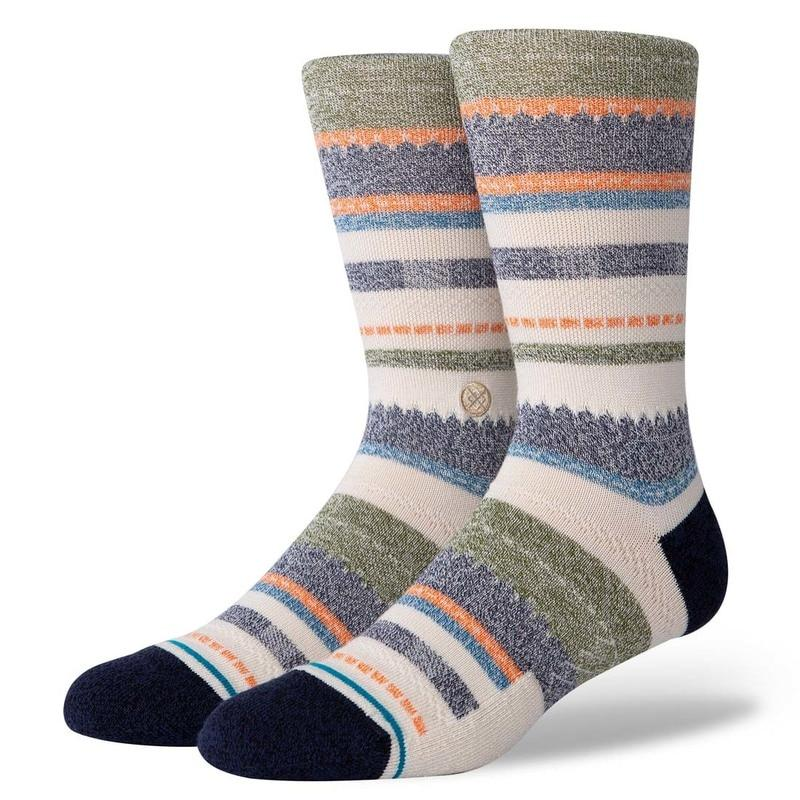 Stance - Tucked In Crew Socks | Men's - Knock Your Socks Off