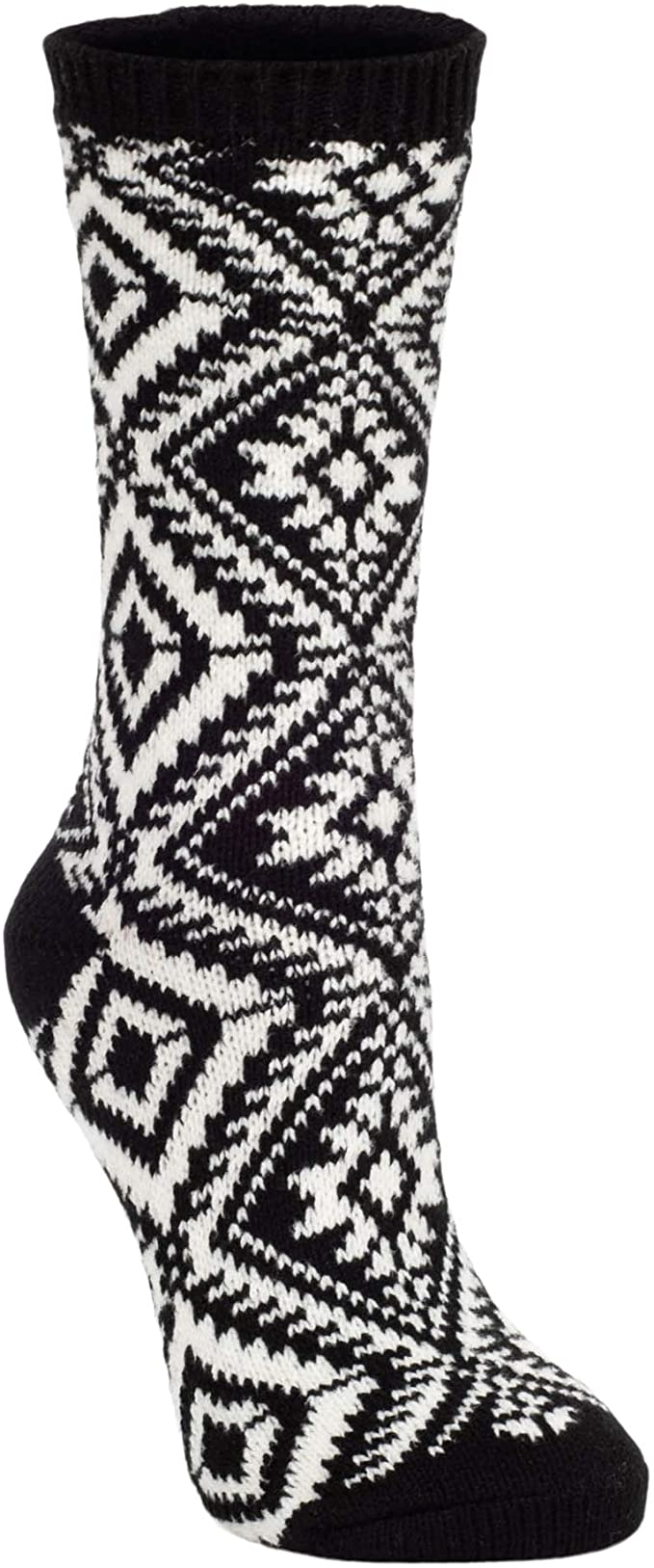 World's Softest - Black Crew Socks | Women's - Knock Your Socks Off
