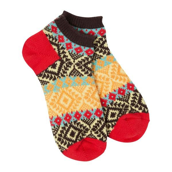 World's Softest - Fiesta Gallery Textured Ankle Socks | Women's - Knock Your Socks Off