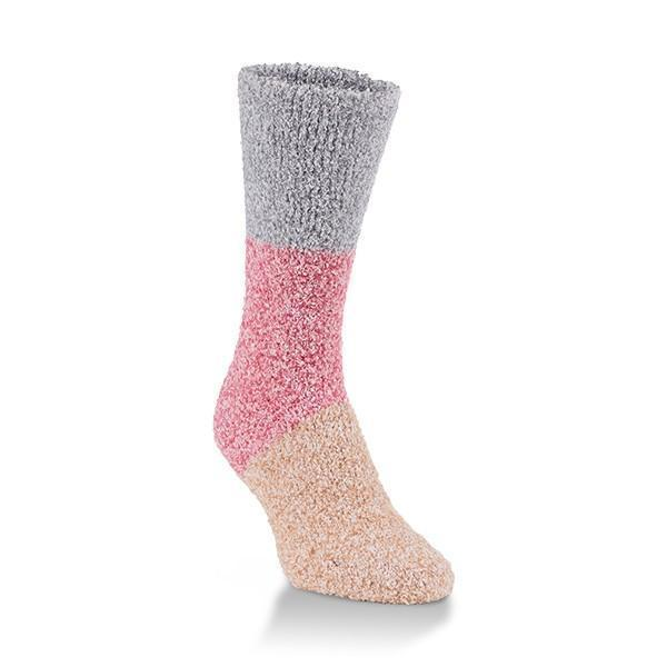 World's Softest - Winter Knit Pickin' Frost Crew Socks | Women's - Knock Your Socks Off