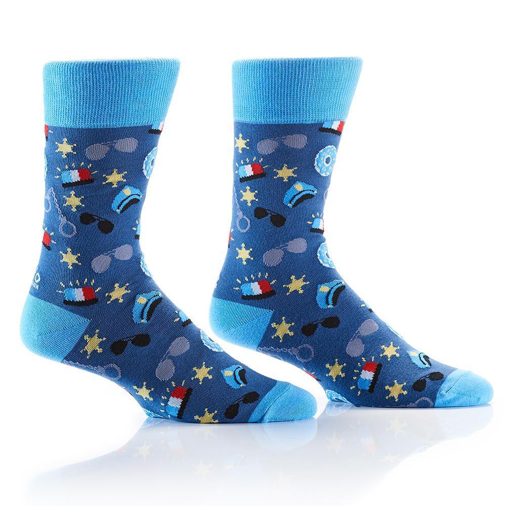Yo Sox - Officer Crew Socks | Men's - Knock Your Socks Off