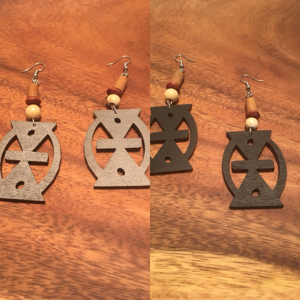 Mmere Dane Earrings - Natural Couture