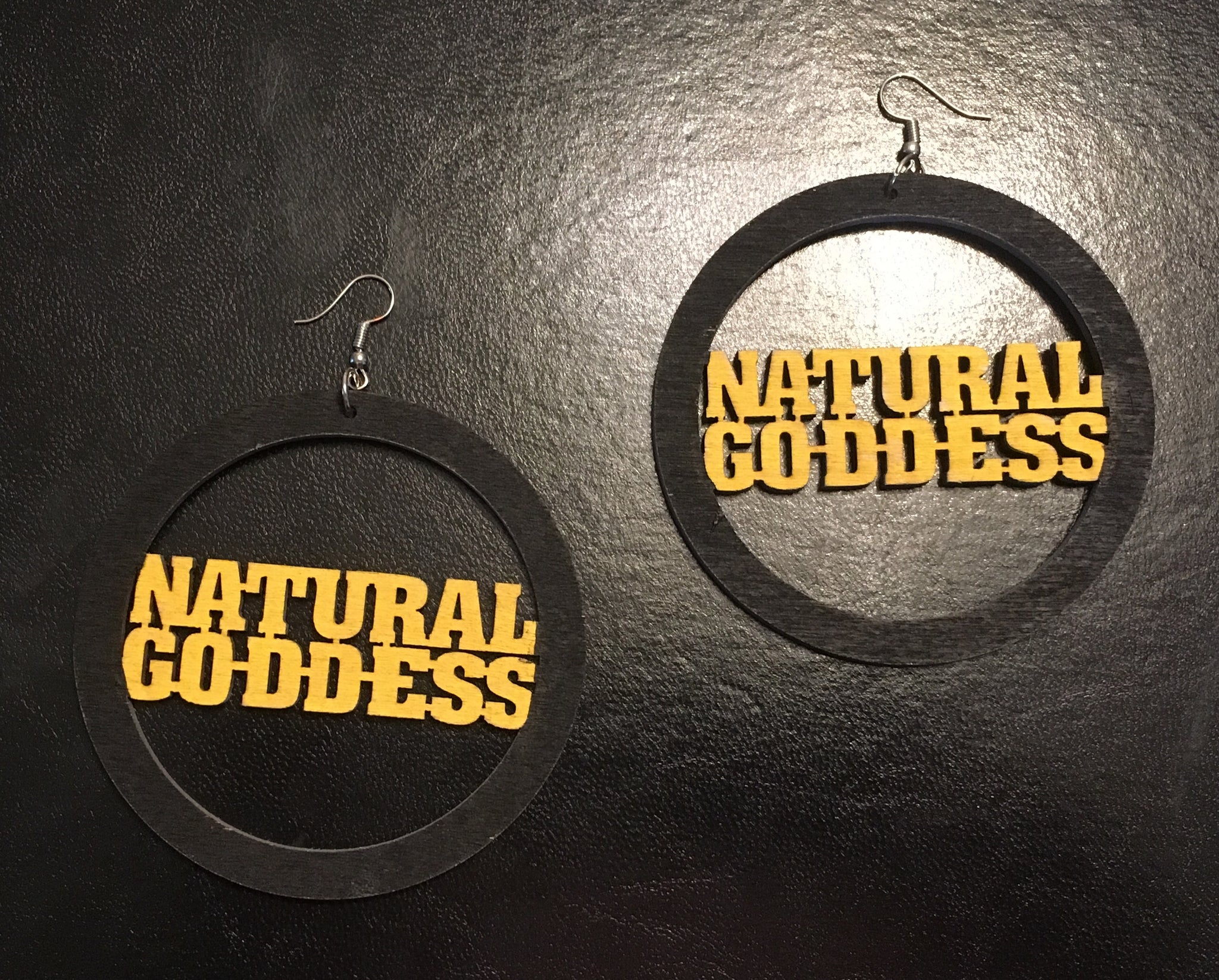 Natural Goddess Earrings - Natural Couture