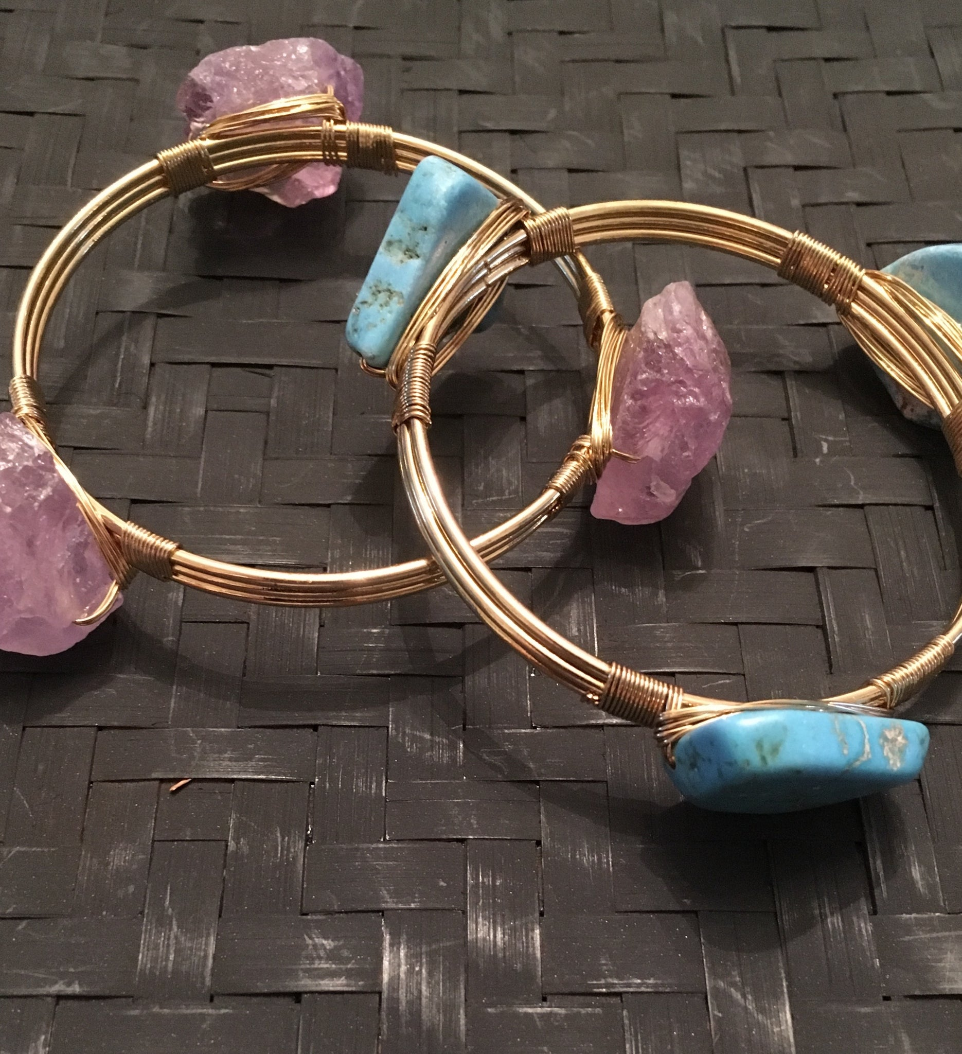 Power Bangles - Natural Couture