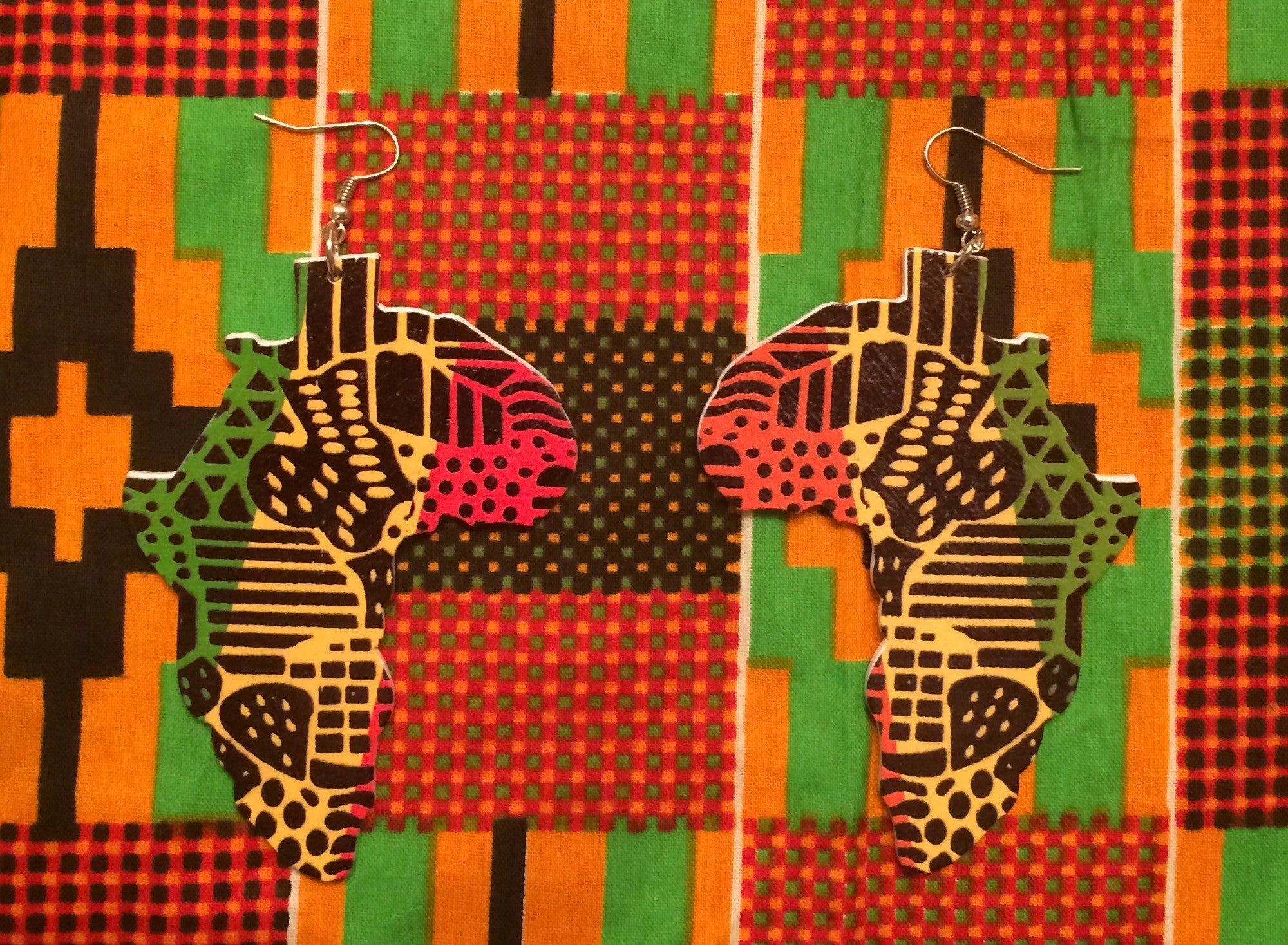 RBG Motherland Earrings - Natural Couture