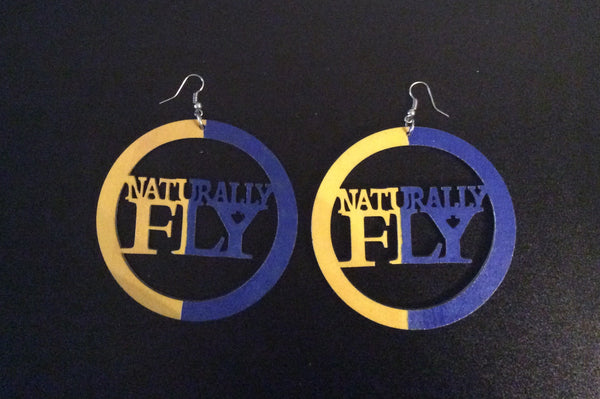 Naturally Fly Earrings