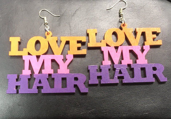 Love My Hair Earrings