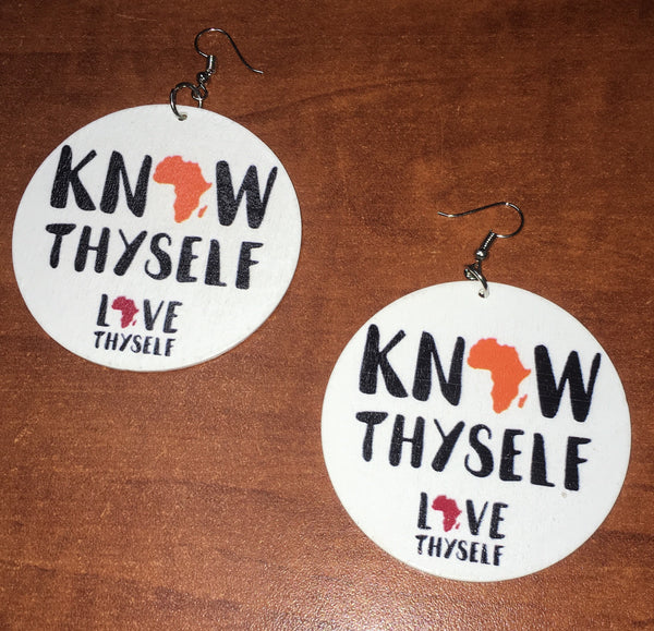 Know Thyself Earrings