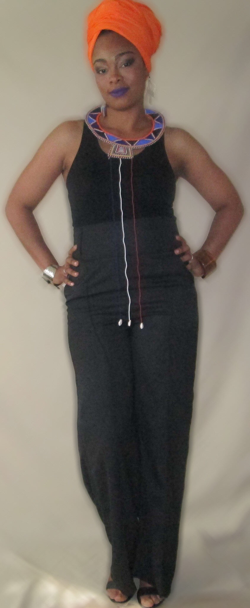 Defined Simplicity High Waist Pants - Natural Couture