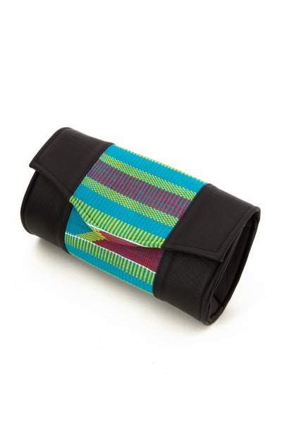 Queen Kente Clutch - Natural Couture