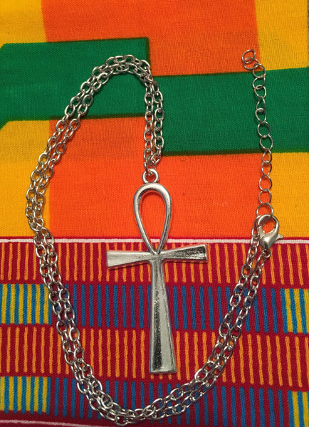 Modern Ankh Necklace