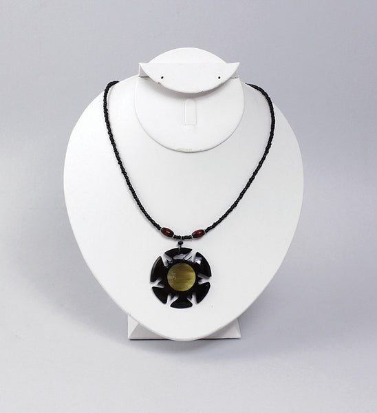 Sun Necklace - Natural Couture