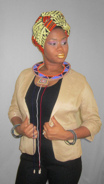Maasai Necklace - Natural Couture