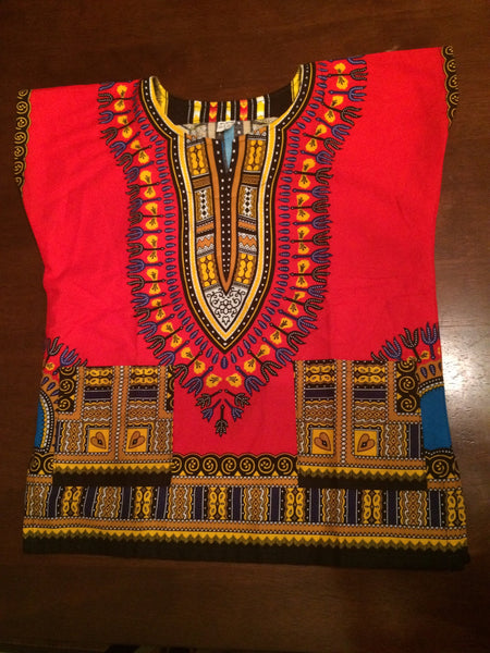 Children's Dashiki - Natural Couture