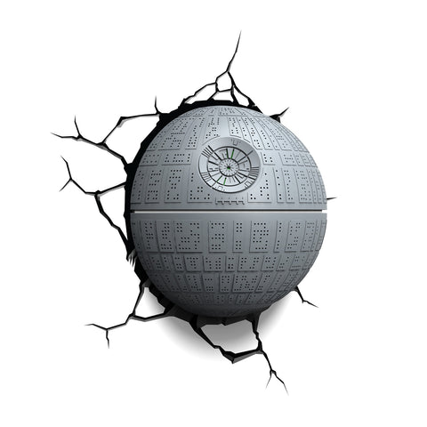 Star Wars 3D Night and Deco Light - Death Star - Todesstern - 3DLightFX battery operated LED lamp