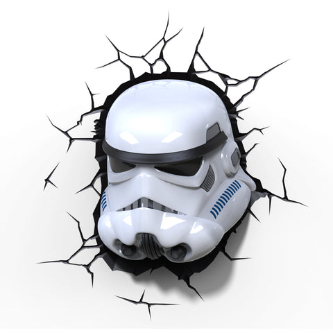 Star Wars 3D Night and Deco Light - Storm Trooper - 3DLightFX battery operated LED lamp