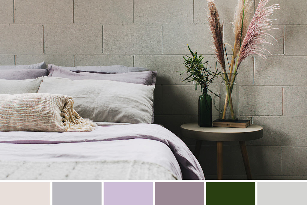 Orchid and Fern: A Color Story