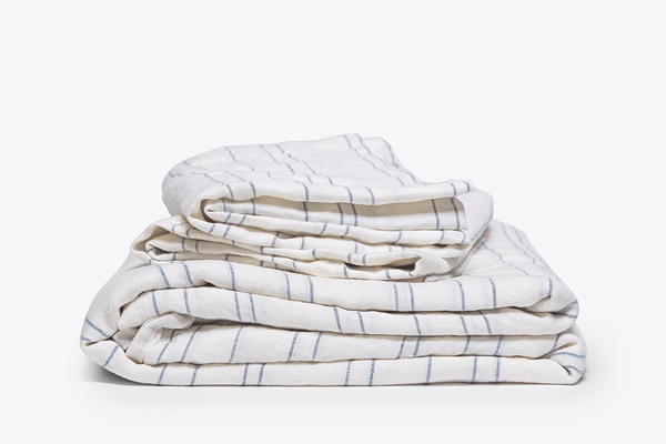 STRIPED SHEET SET HEIRLOOM LINEN