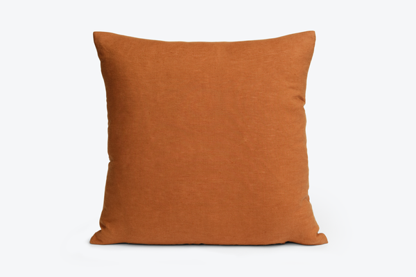 "LINEN THROW PILLOW 18"" x 18"""