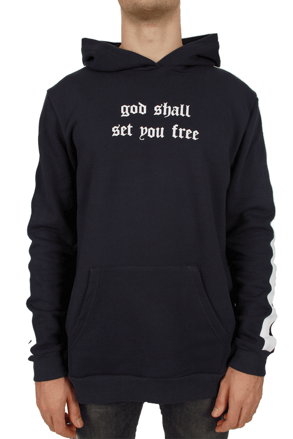 God Shall Set You Free Hoodie - Navy