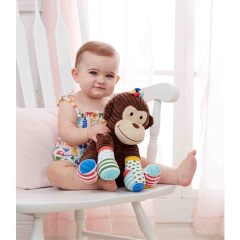 Mud Pie Sock Monkey