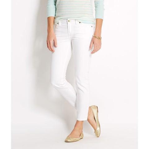 Vineyard Vines White Ankle Jeans